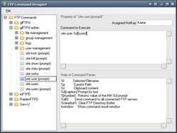 FTP Command Designer